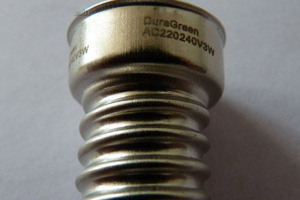 screw surface laser marking