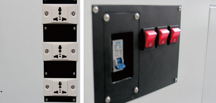 interlocking sockets and switch