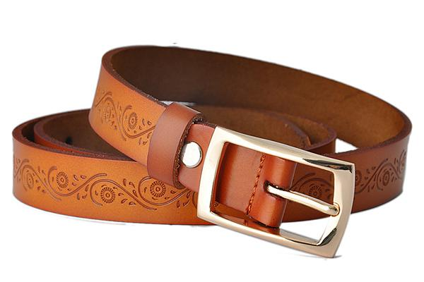 Belts laser cutting and engraving