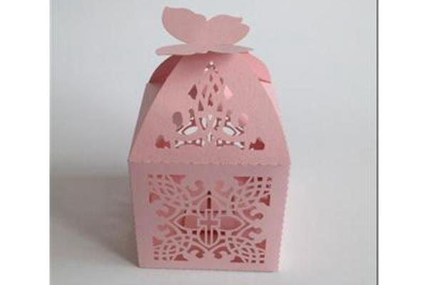 Gift box laser cutting,hollowing and carving