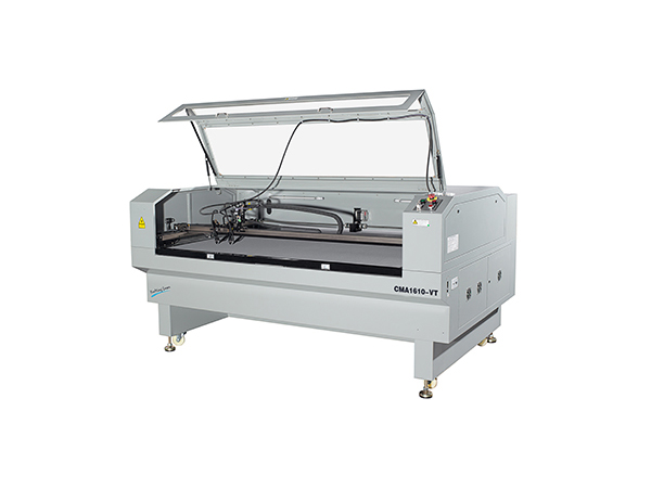 Two Heads Vision CCD Camera Laser Cutting Machine